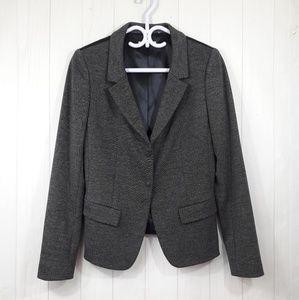 Tahari | Gray black blazer